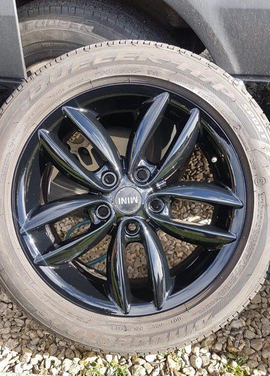 alloy wheel damage amersham