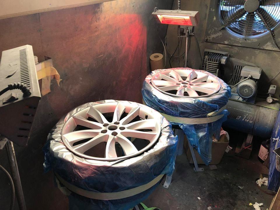 mobile alloy wheel refurbishment in beaconsfield